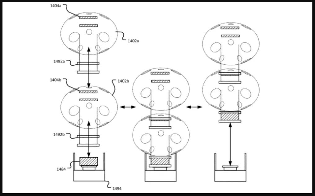 Amazon запатентовала дрона-кладовщика, похожего на медузу