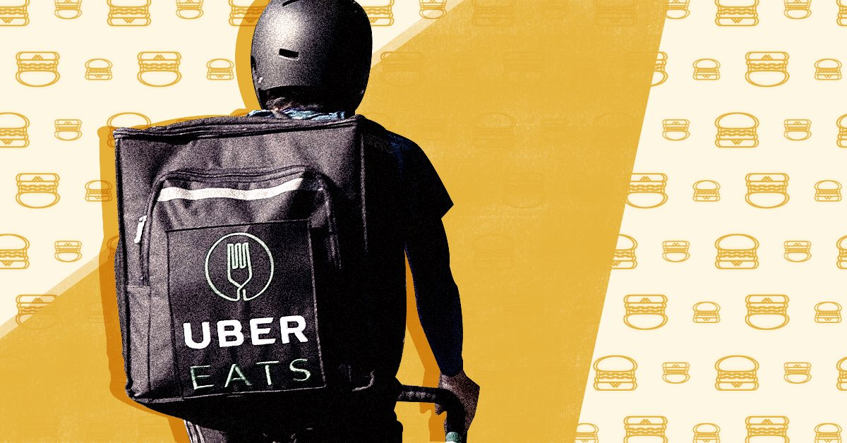 Uber Eats наконец-то в Украине: сервис запустят в Киеве до конца января