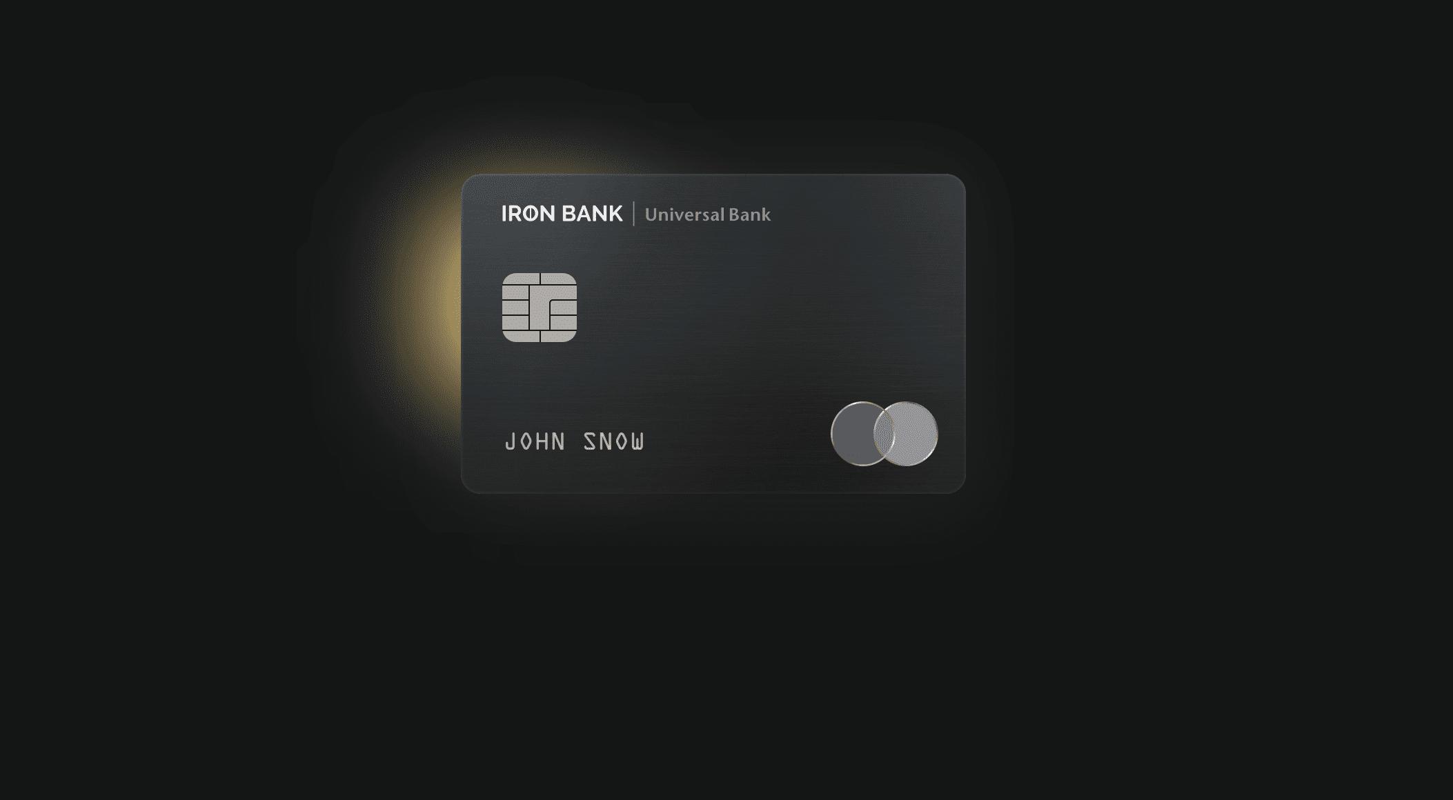 Monobank представил карты для премиальных клиентов Iron Bank. На них можно копить мили