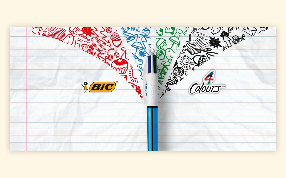 b3570512 Всемирно известный бренд ручек BIC обратился к краудсорсинговой платформе  eYeka. Компания хотела обновить визуальную презентацию бренда, чтобы  привлечь ...