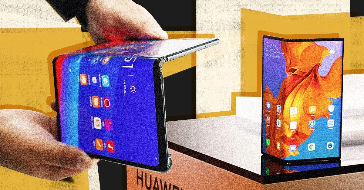 По следам Samsung: Huawei выпустила складной смартфон. OPPO тоже хочет, но пока боится