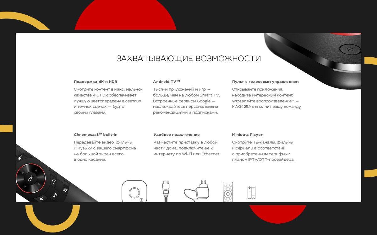 Что может MAG425A — первая украинская приставка на Android TV? | Vector