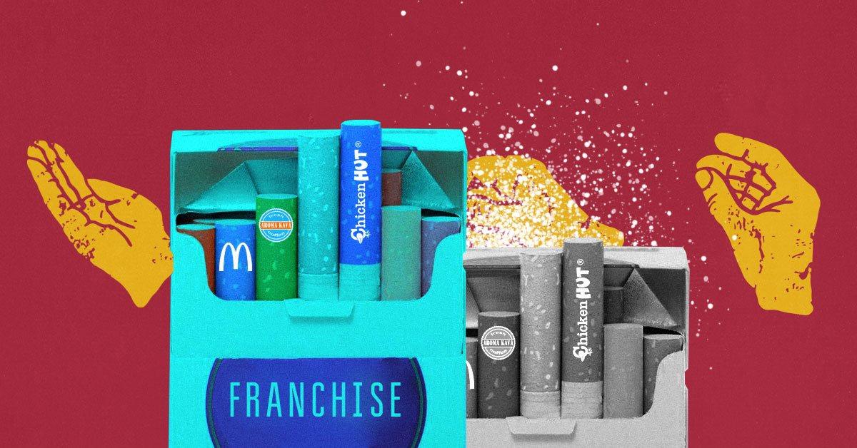 Зачем покупать франшизу, если можно создать свой бренд