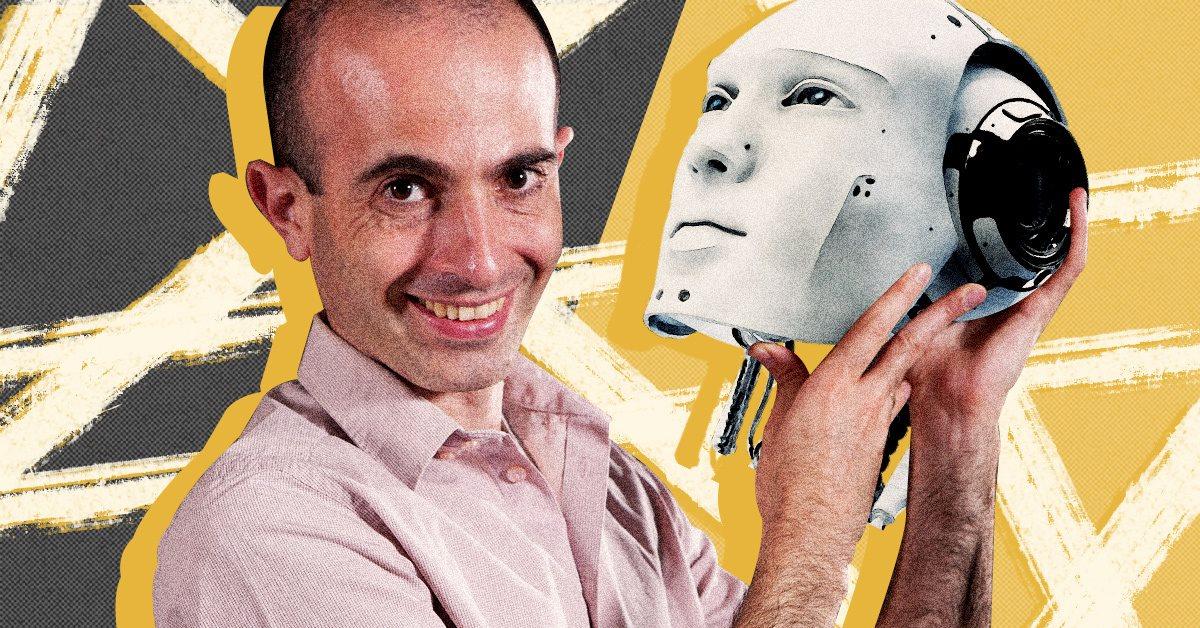 Юваль Харарі «наїхав» на українських AI-розробників. Знайомимо його з технологіями наших компаній