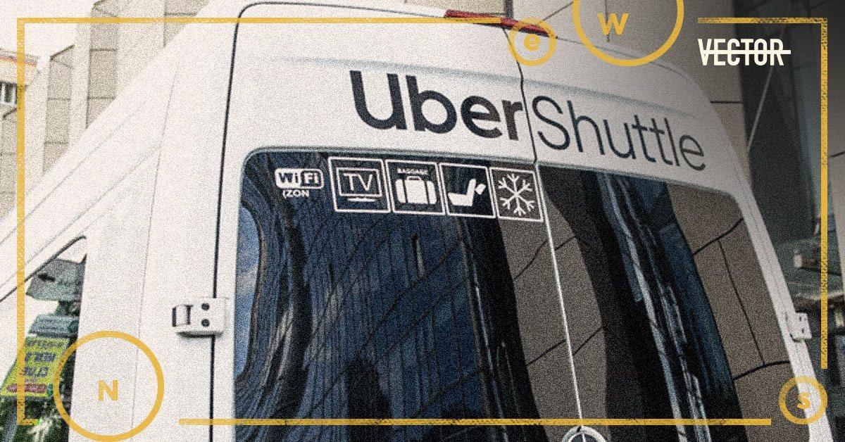 Маршрутки Uber Shuttle теперь ездят с Троещины на Печерск