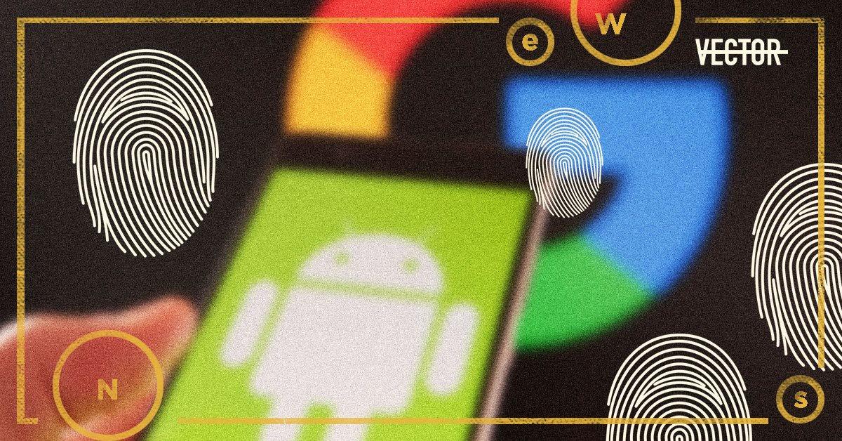Логиниться в сервисах Google можно будет по отпечатку пальца