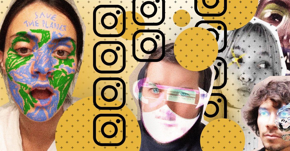 Как создать свою первую Instagram-маску за 20 минут — гайд
