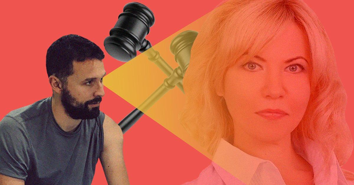 Пиарщица Юлия Правик подала в суд на Артура Оруджалиева. Требует 2 млн грн за моральный ущерб