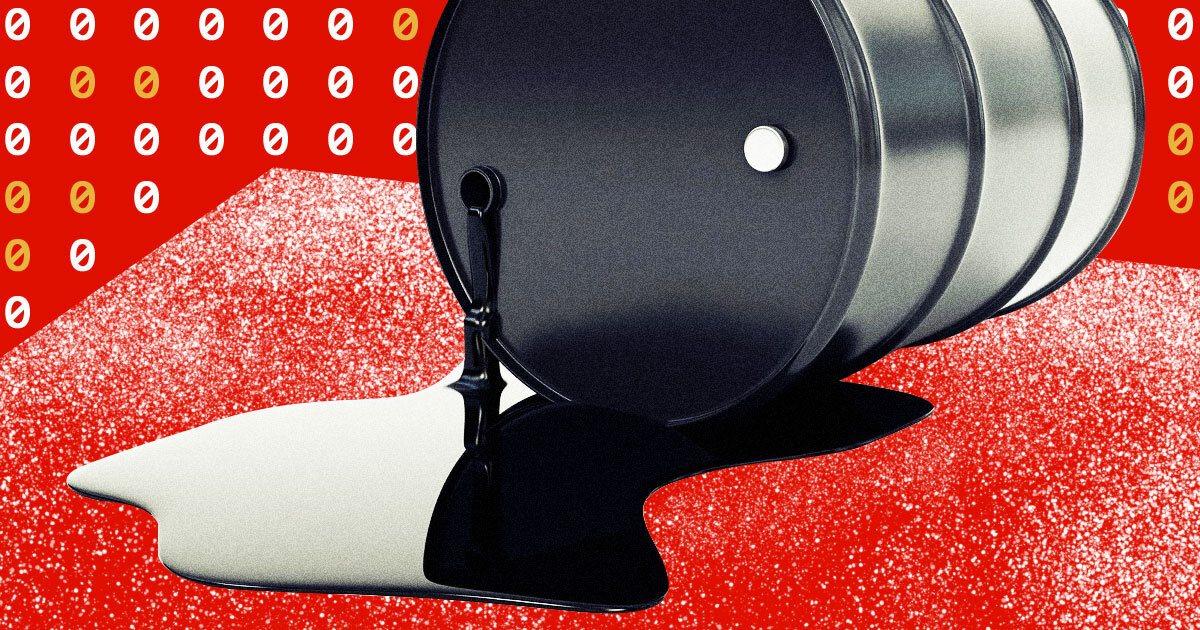 Нефтяные фьючерсы ушли в минус. Что это значит?