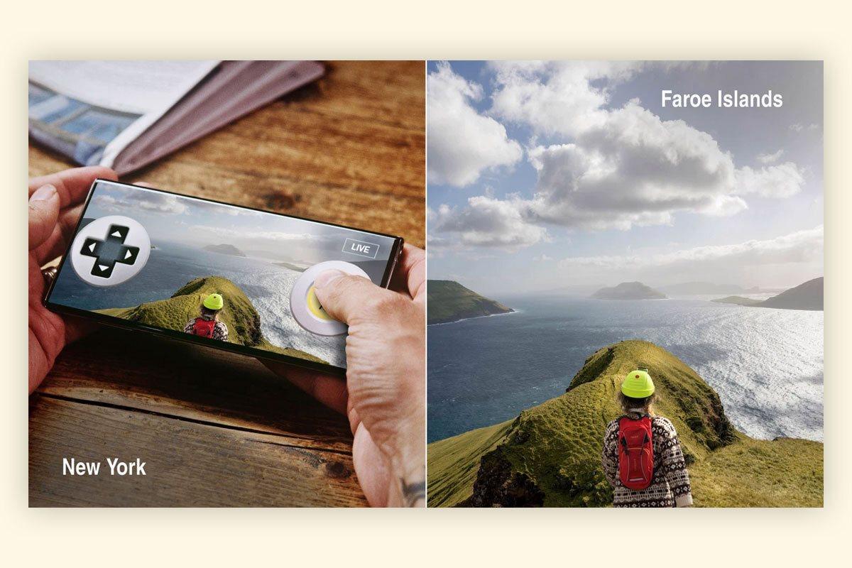 На Фарерах запустили виртуальные туры. Можно управлять реальными жителями островов