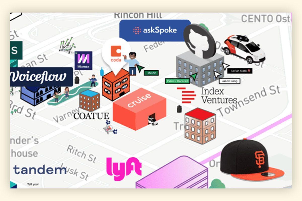 Появилась виртуальная версия Кремниевой Долины с шутками и скутерами