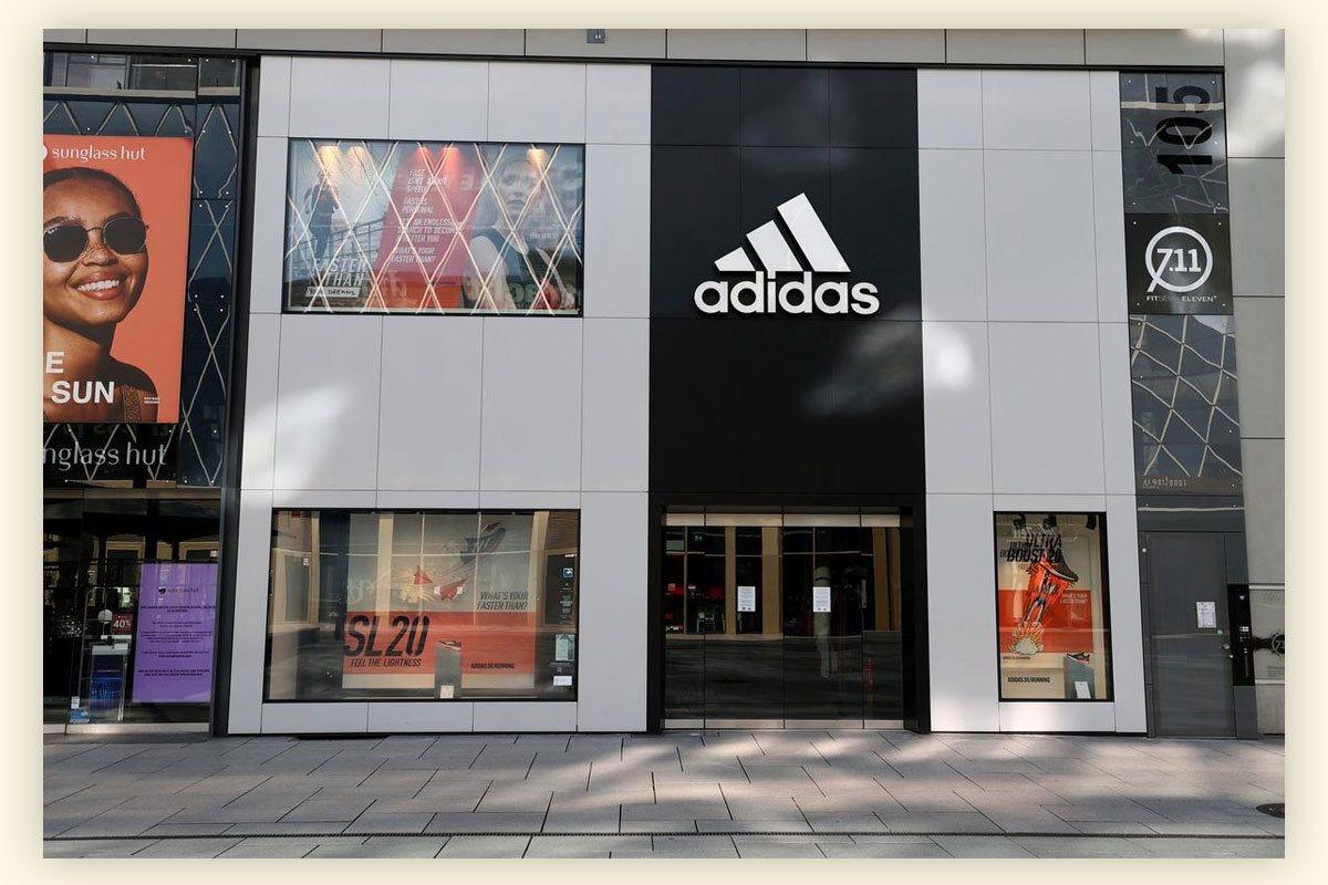 Операционная прибыль Adidas упала на 93% в первом квартале