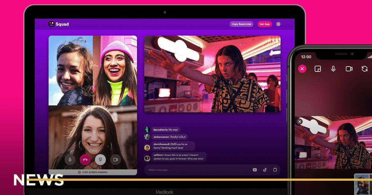 Появился бесплатный сервис для совместного просмотра Netflix, YouTube и TikTok