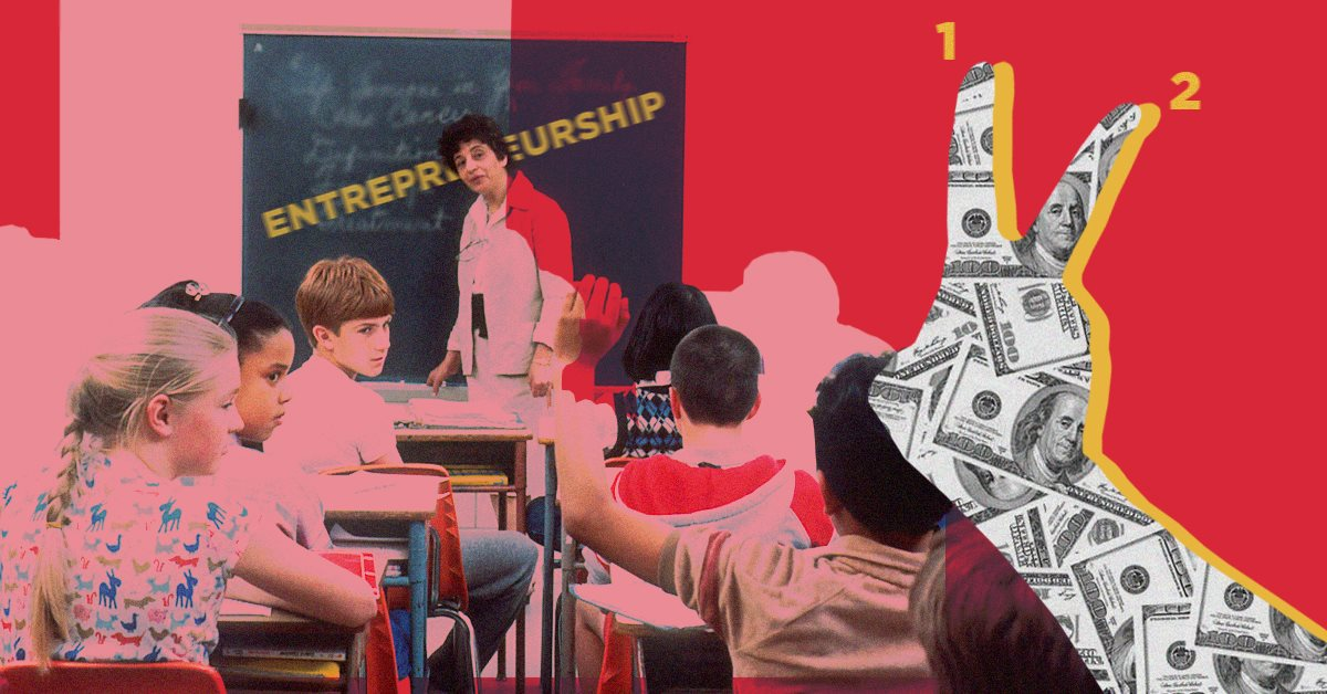 Что я узнал, обучая школьников предпринимательству. Вот два важных урока