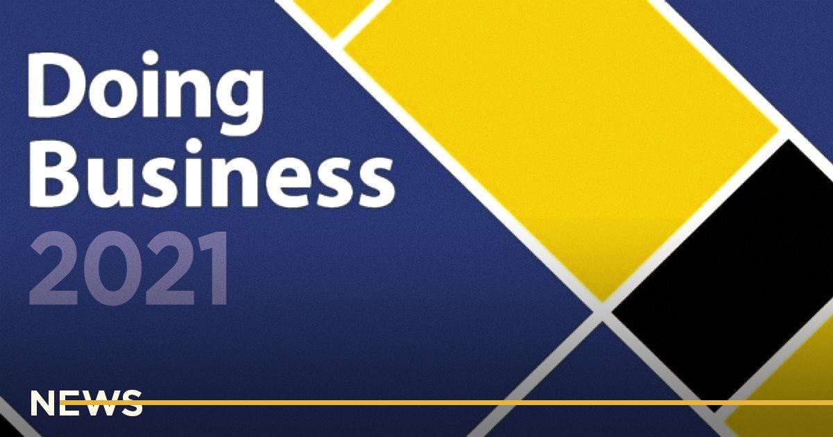 Минэкономики прогнозирует, что Украина поднимется на 10-20 позиций в Doing Business 2021