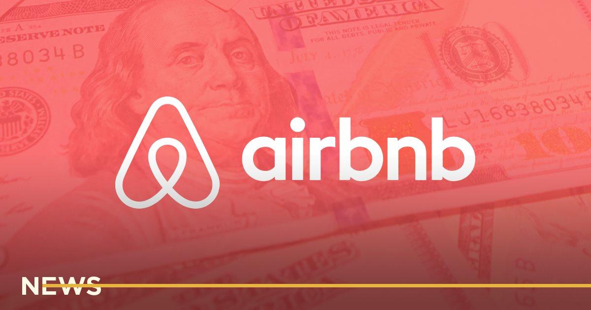 За год Airbnb потратил более <img loading=