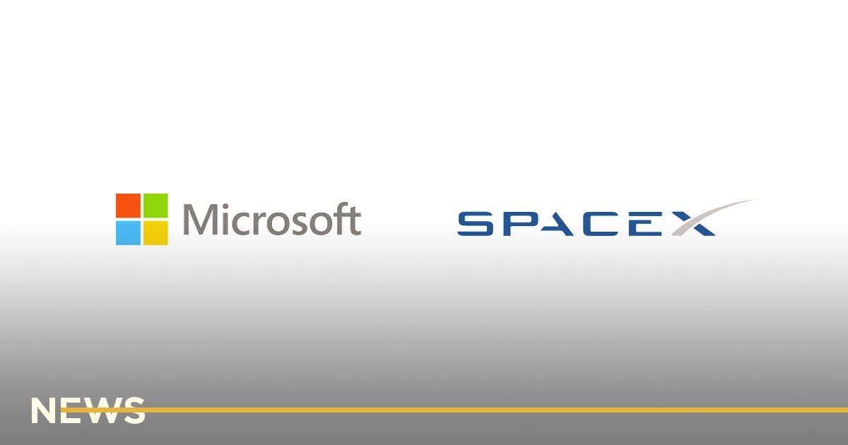 Microsoft начала сотрудничество со SpaceX, чтобы подключить Azure к Starlink