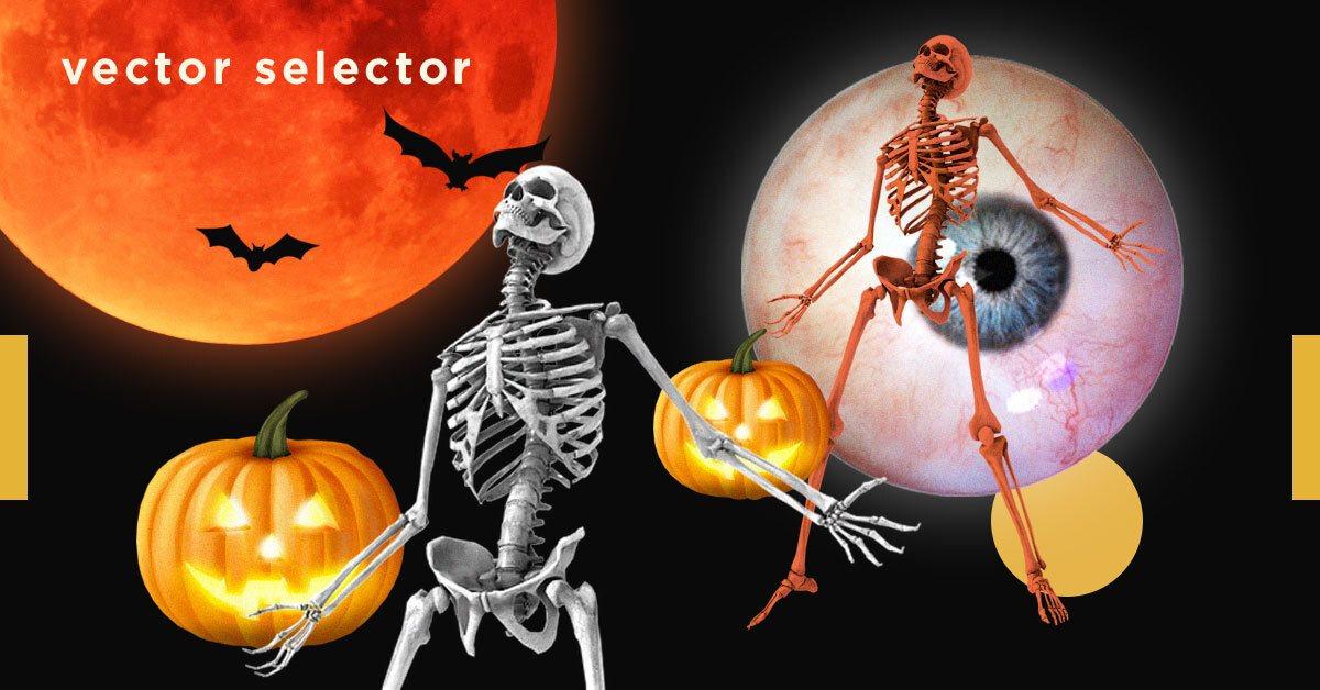 Vector Selector: 5 сервисов, которые сделают ваш Хэллоуин страшнее