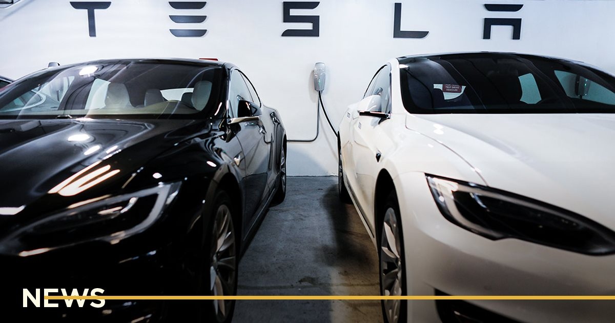 Рыночная капитализация Tesla впервые превысила 0млрд