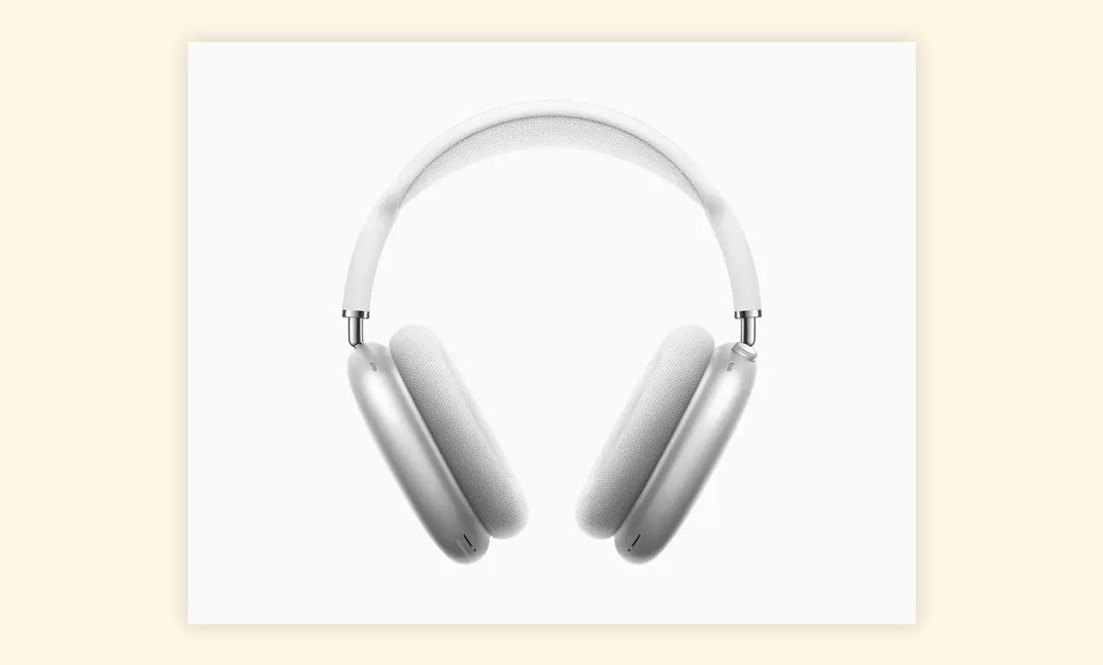 Apple представила накладные наушники AirPods Max за 9