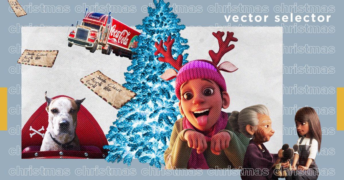 Vector Selector: 12 рождественских рекламных роликов для праздничного настроения