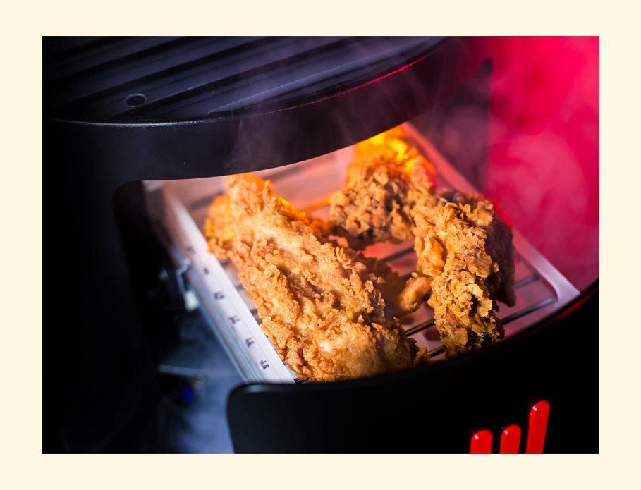 KFC представила игровую консоль с отсеком для курицы
