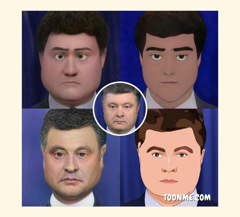 Петр Порошенко как персонаж Disney