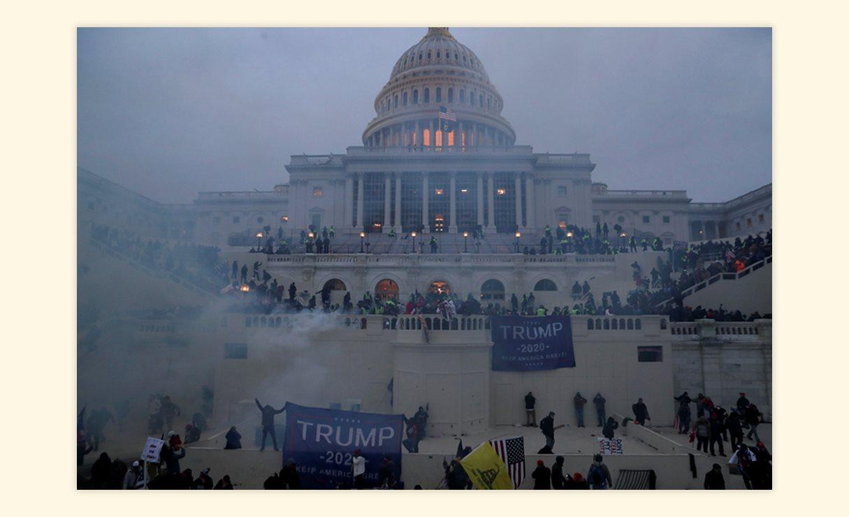 Штурм Капитолия в Вашингтоне, США