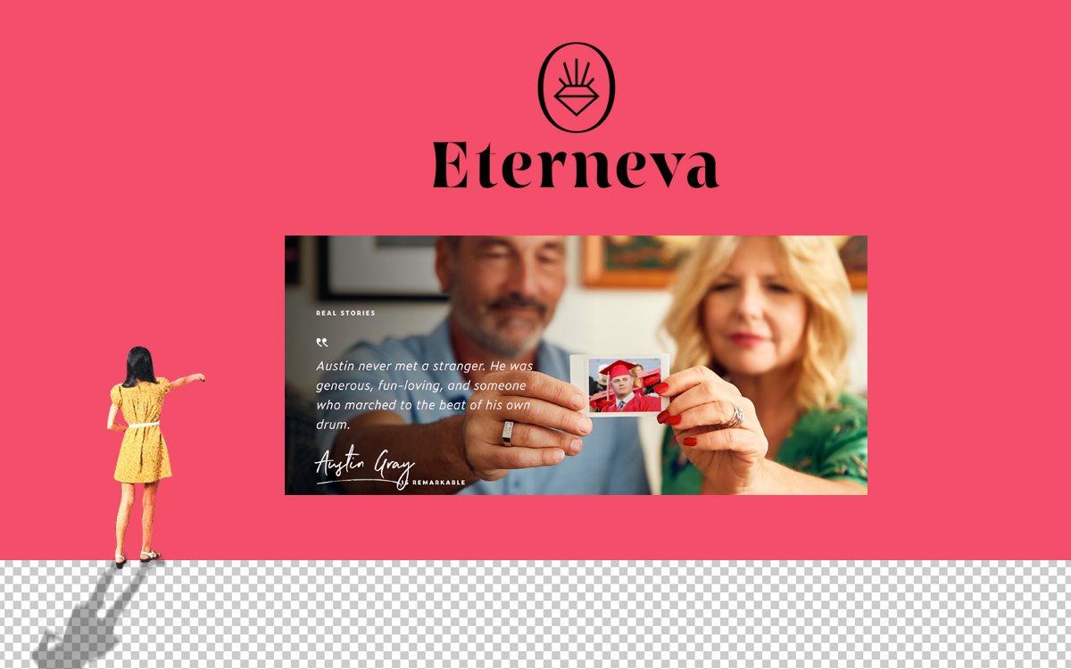 Eterneva превращает прах в бриллианты