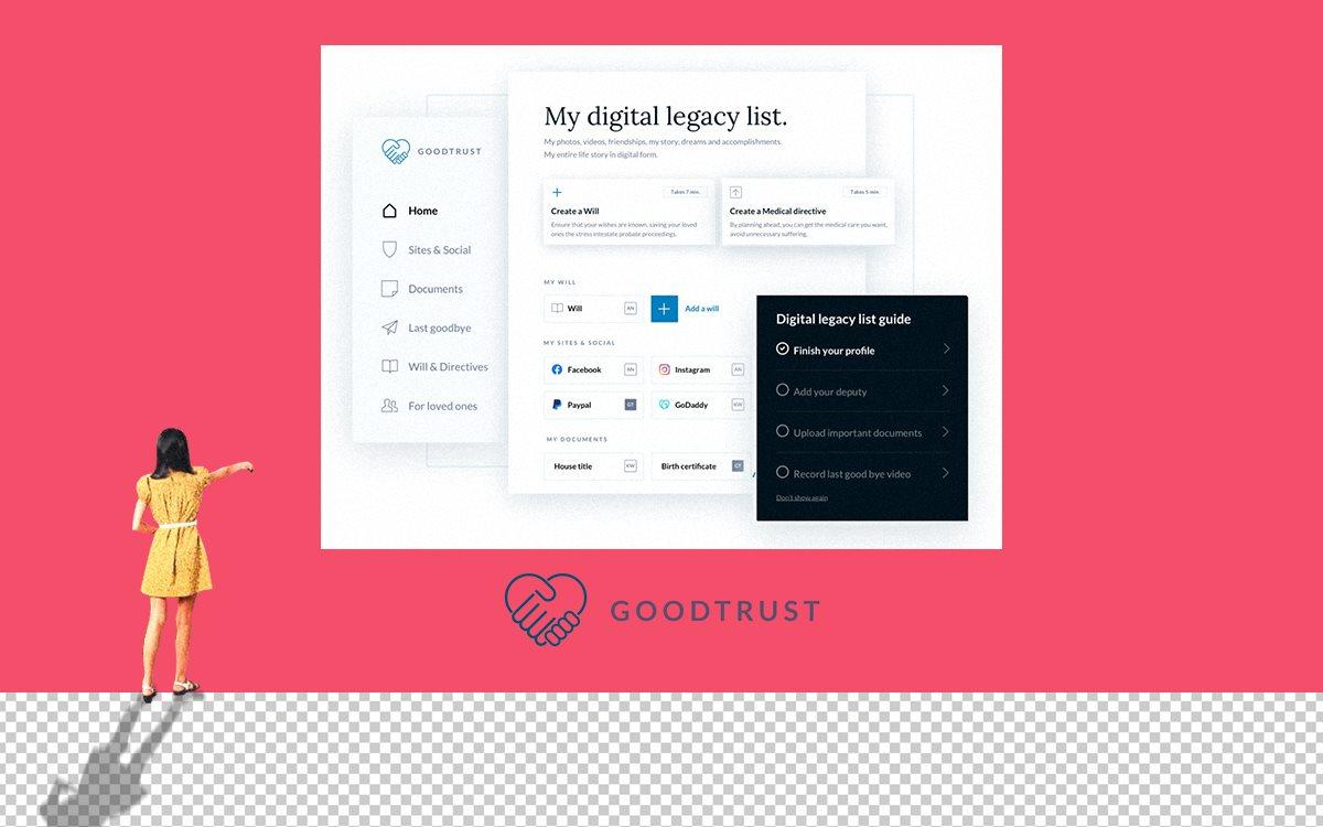 Управление диджитал-наследством GoodTrust