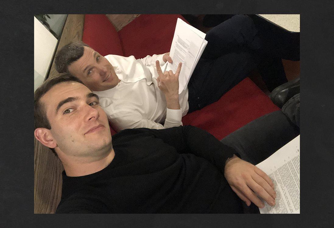 Игорь Фарберов и Владимир Якубовский