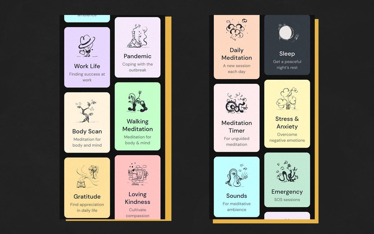 Приложение для медитации Medito