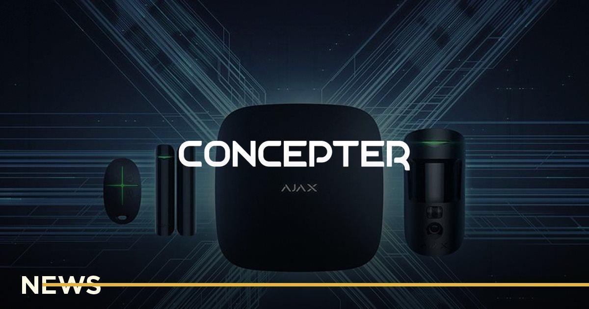 Ajax Systems купил инженерную команду Concepter