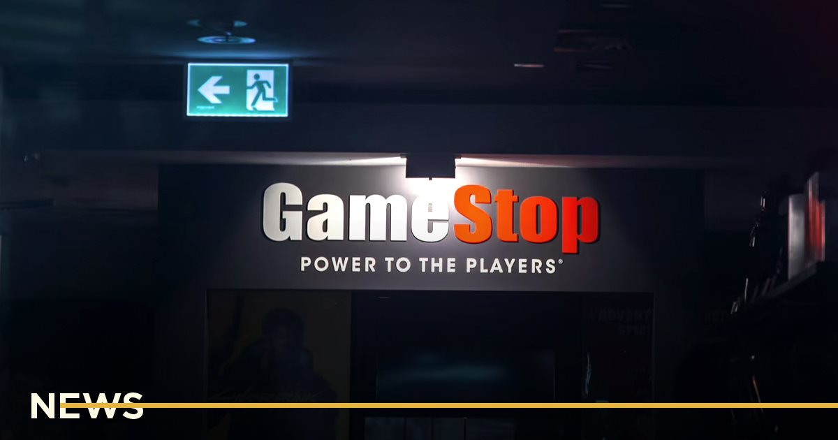 Акции сети магазинов GameStop упали на 60%