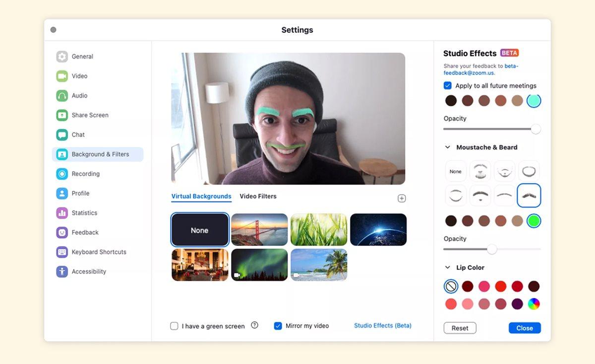 Zoom добавил функцию изменения внешности