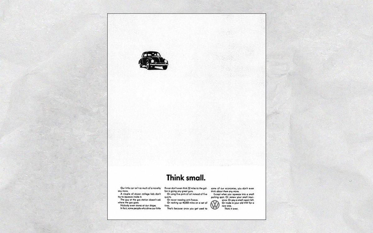 кампания Think small для Volkswagen