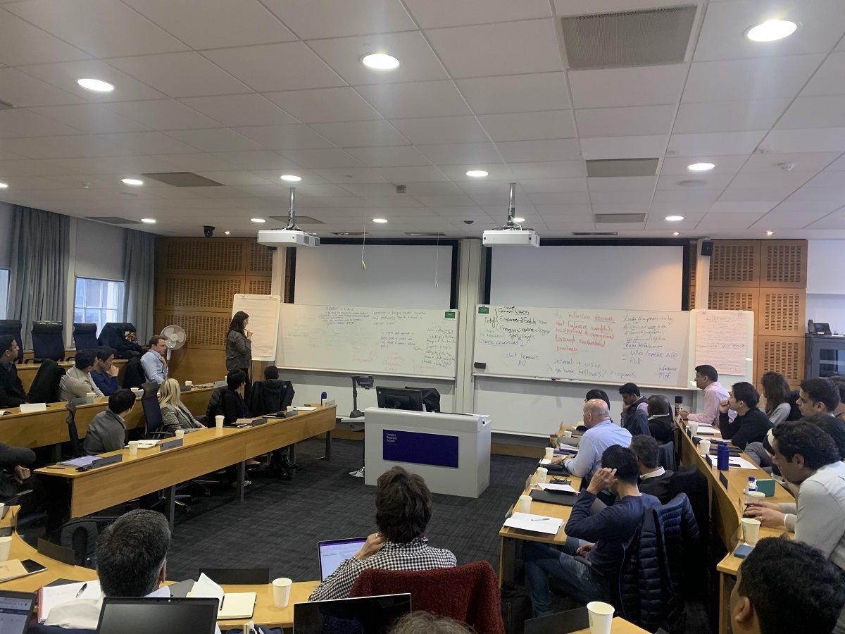 Обучение в Лондонской бизнес-школе