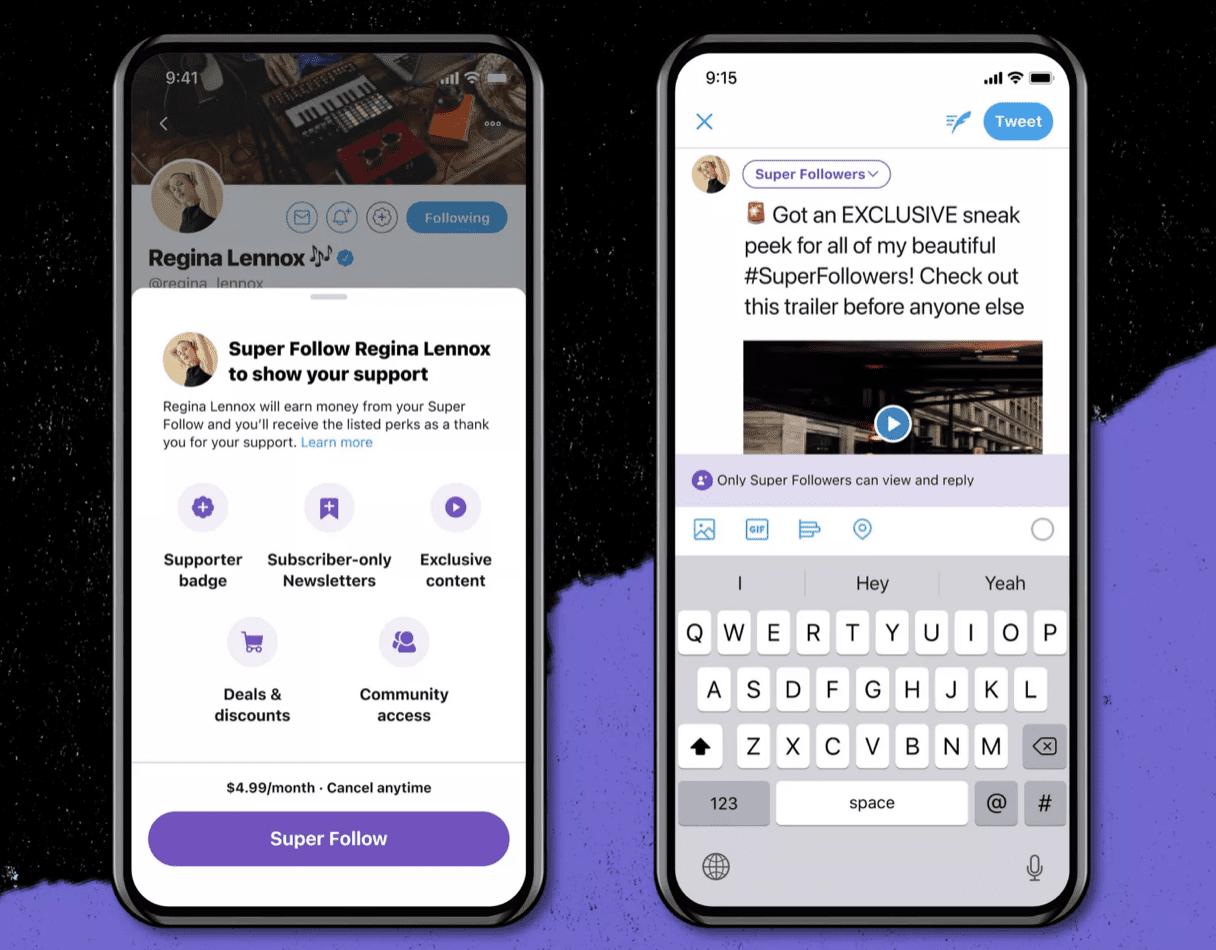 Twitter анонсировала платную подписку и сообщества по интересам