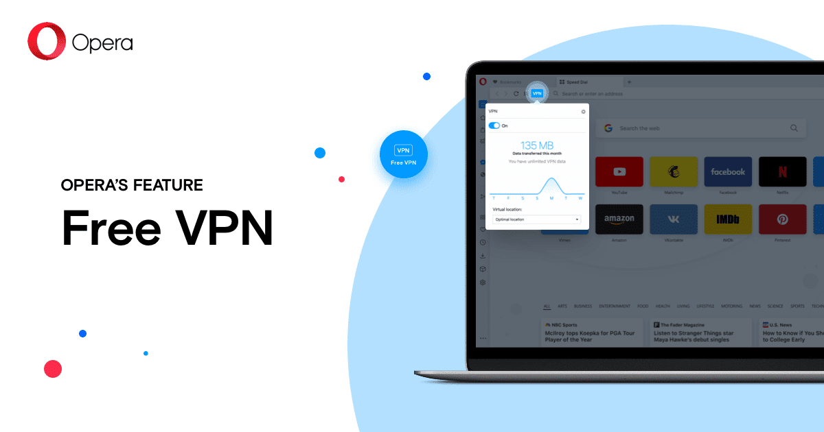 Браузер Opera Browser VPN