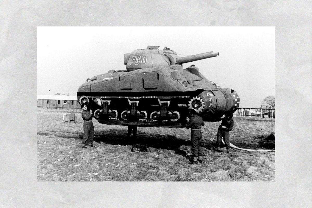 Надувные танки Вторая мировая война