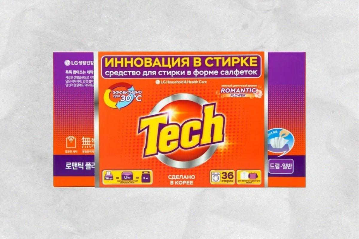 Стиральные салфетки LG Tech