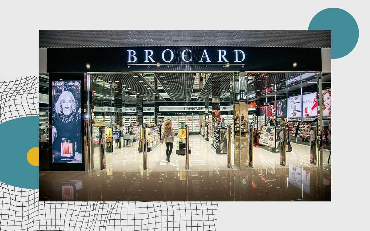 Магазин BROCARD в ТРЦ «Сити-Центр», Одесса