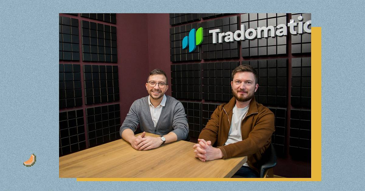 Основатели Tradomatic Денис Дмитриев и Денис Балон
