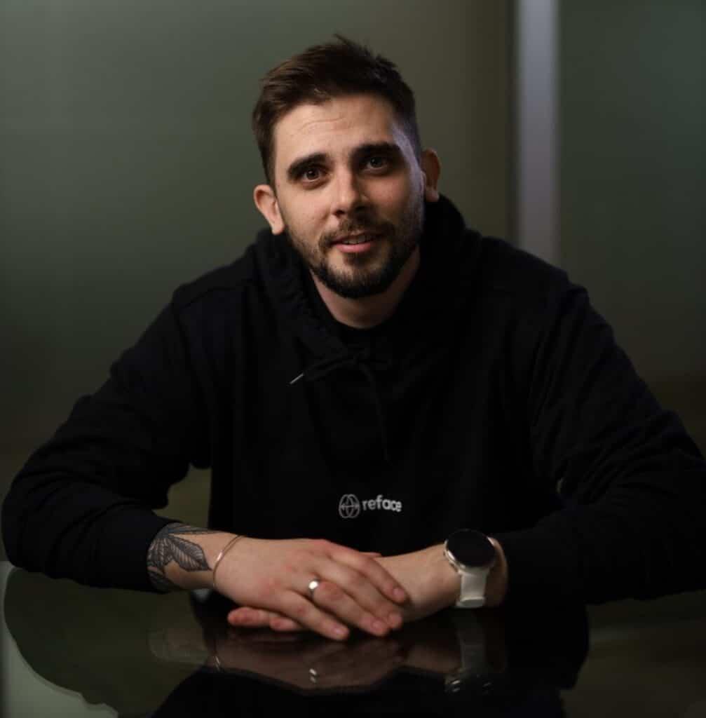 Head of Marketing Reface Евгений Лейбов