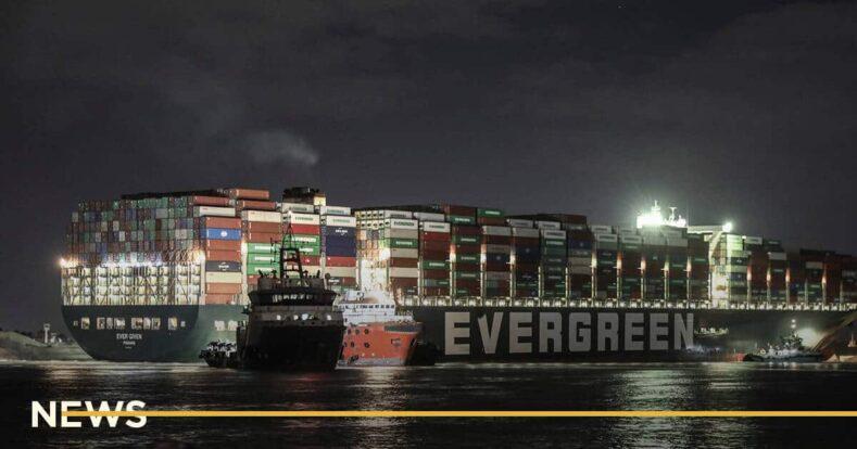 Египет арестовал Ever Given из-за неуплаты компенсации за блокировку Суэцкого канала
