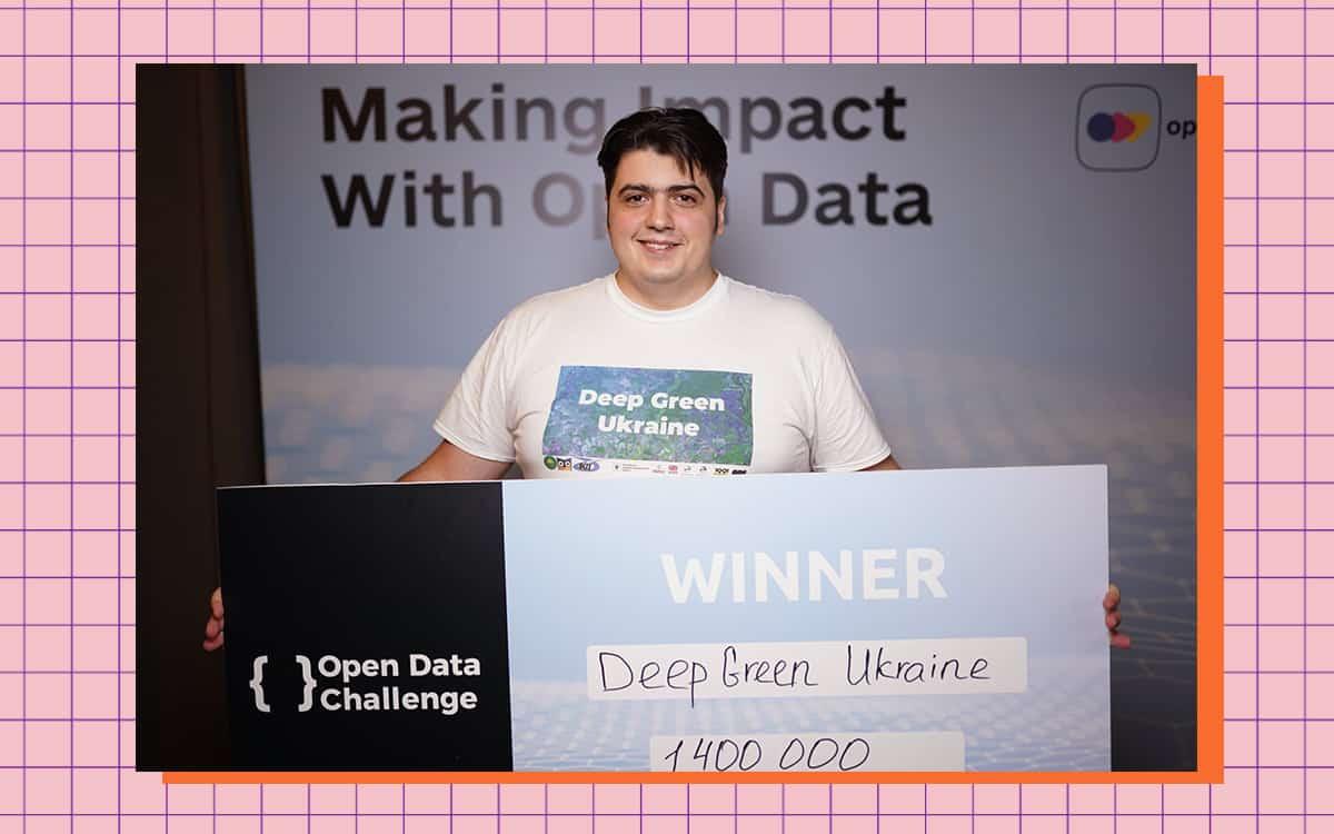 Стартап Deep Green Ukraine пройшов до фіналу Open Data Challenge