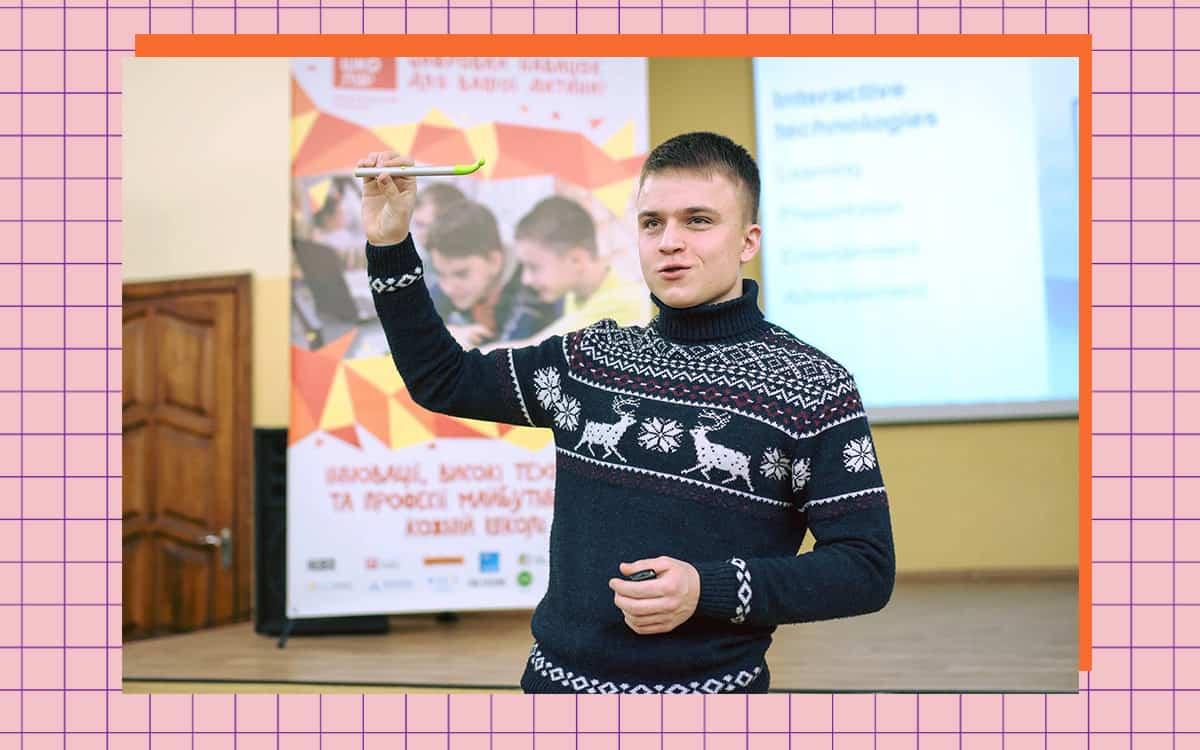 Андрій Коноваленко — засновник стартапу CamTouch