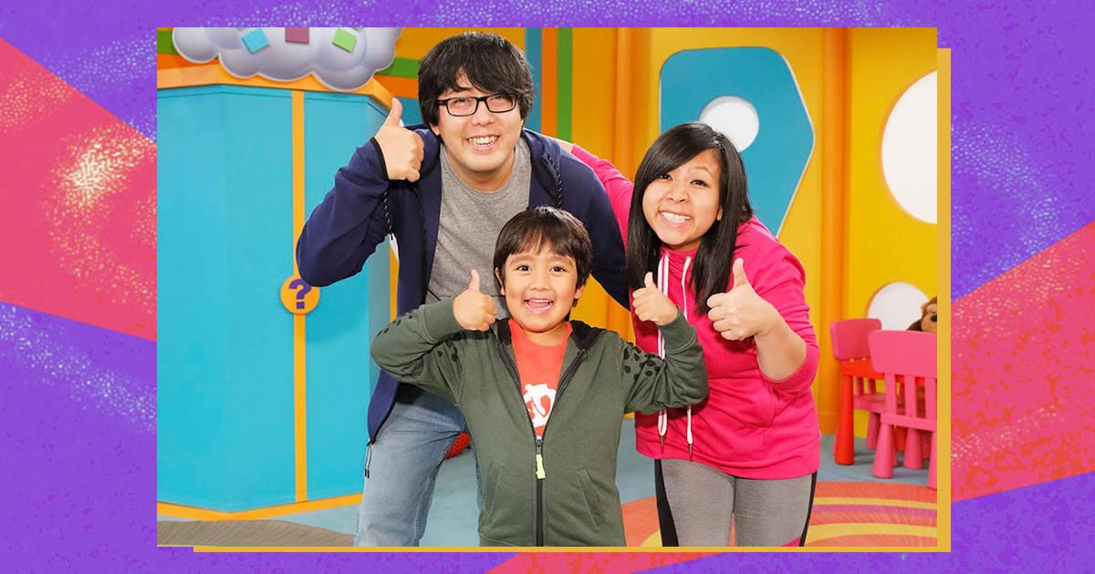 Райан Каджи и его родители, YouTube-канал Ryan's World