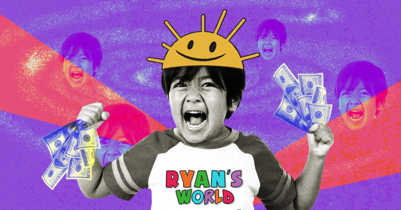Как 9-летний Райан Каджи зарабатывает почти $30 млн в год на YouTube