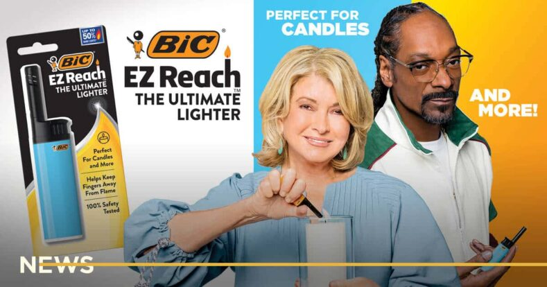BIC выпустил рекламу зажигалки со Snoop Dogg и шуткой о марихуане